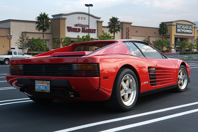 The Testarossa was my favorite car before the NS-X was announced