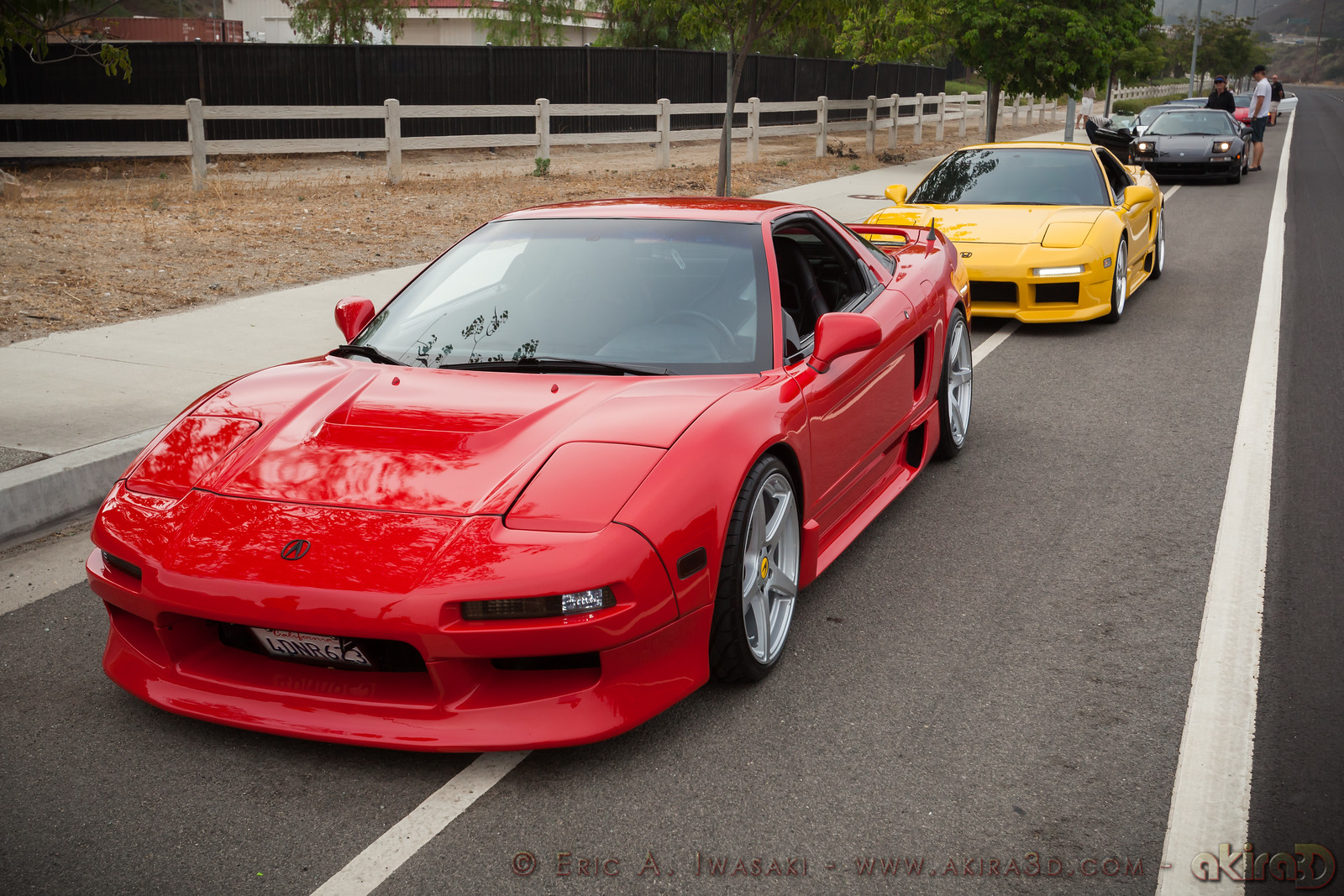 These familiar NSXs belong to Mike (mike2la) and Ted (Theo1)