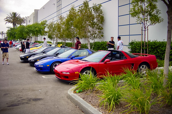 NSXers (and many other car enthusiasts) attend the 4th Annual Sports Car Club Meet