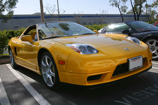 Several late model NSXs have shown up as well, including this 2004