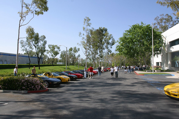 On a beautiful March morning, NSXers from around SoCal converge upon the Saleen Factory in Irvine