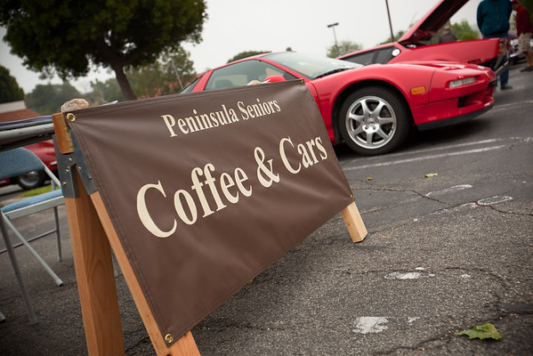 My first time to our local Coffee & Cars event...and I brought the only NSX