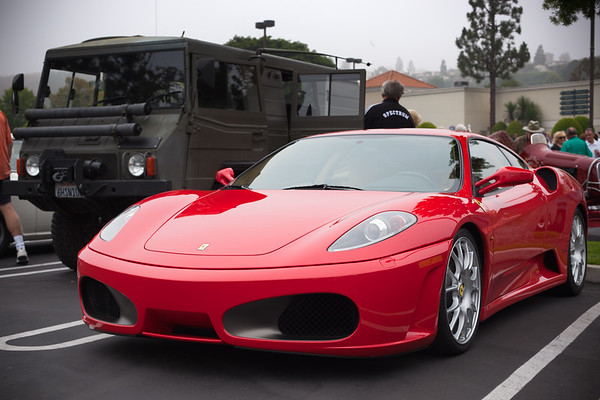 F430 with the Pinzgauer