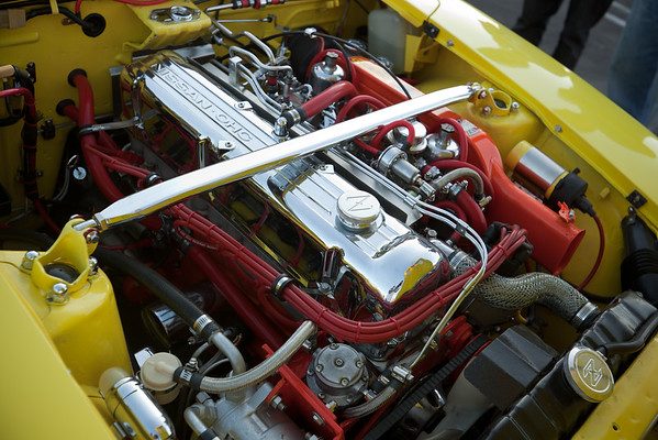 Under the hood of the Datsun 240Z