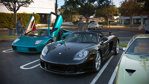 This Porsche Carrera GT is one of the regulars