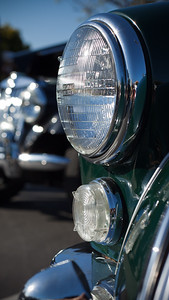 Head lamps and British Racing Green