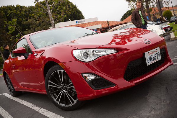 The Scion FR-S is actually not a bad looking car