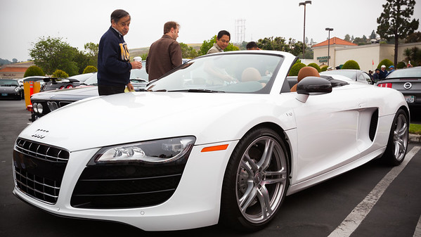 I want to like the R8 Spyder, but something significant was lost when they chopped off the top