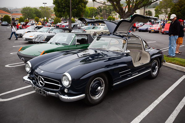 Palos Verdes Coffee & Cars features German autos this month