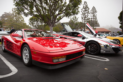 I'd probably take the old Ferrari over the new McLaren