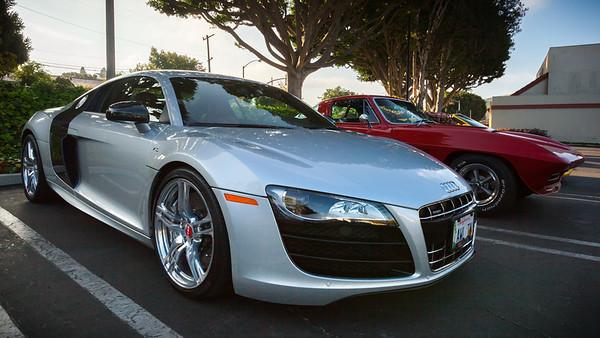 Audi and 'Vette