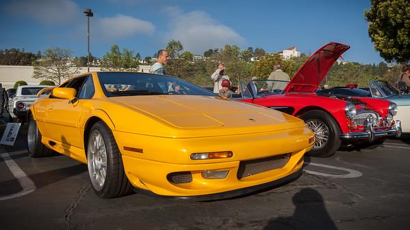 Lotus Esprit and Austin Healey 3000MkIII