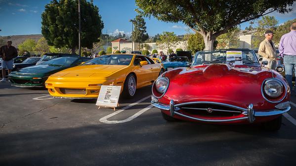 Loti and a 1968 Jaguar XK E Type