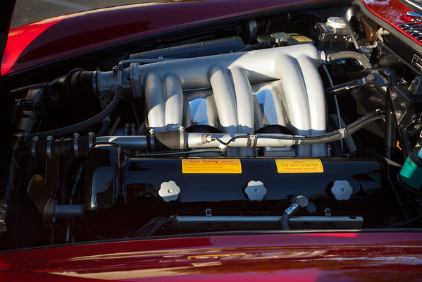 Achtung! My first peek under the hood of the 300 SL