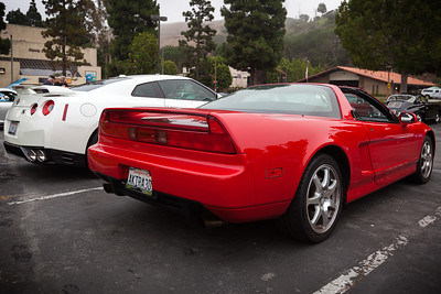 And, once again, I have the only NSX here today.  Now on to the other cars...