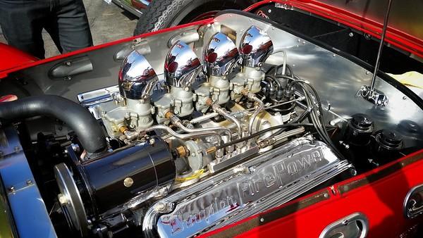 Chrysler Fire Power (under the hood of the 1952 Allard J2X)