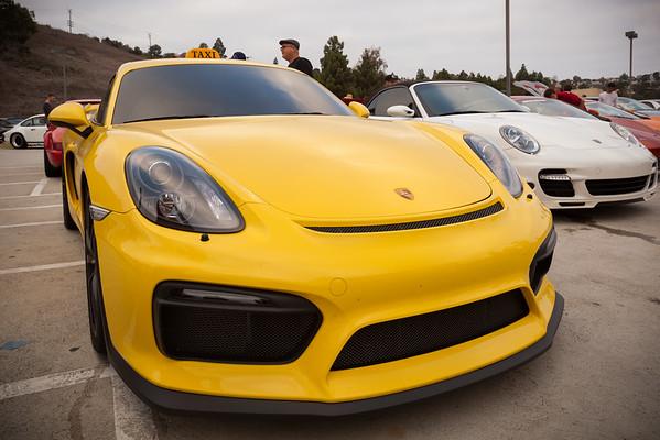 Porsche Cayman GT4 Taxi
