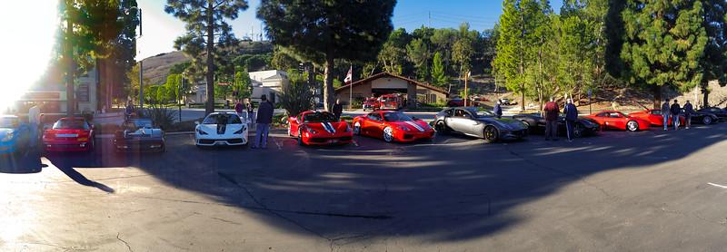 Ferrari corner (smartphone panorama)