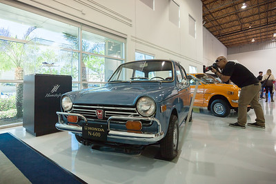 Honda firsts from N600 (first production car in the United States) to HondaJet (first Honda developed general aviation aircraft)