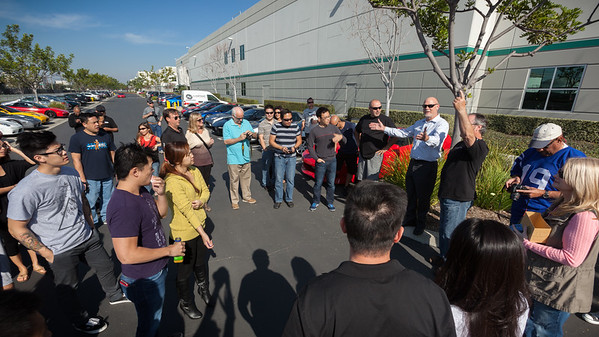David welcomes NSXers to the American Honda Private Collection