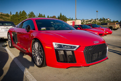 First time I've seen the new R8 in the wild