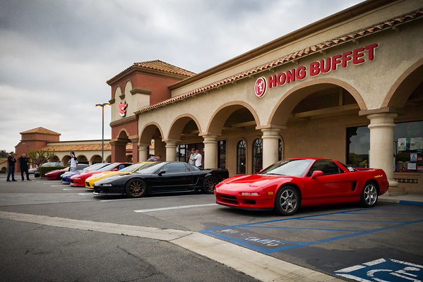 As usual, my NSX stands out because it is stock...and a few inches taller