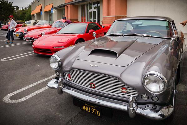 Aston owner has good taste...parking next to me :)