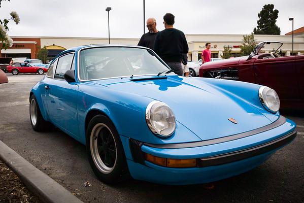 Another Porsche arrives