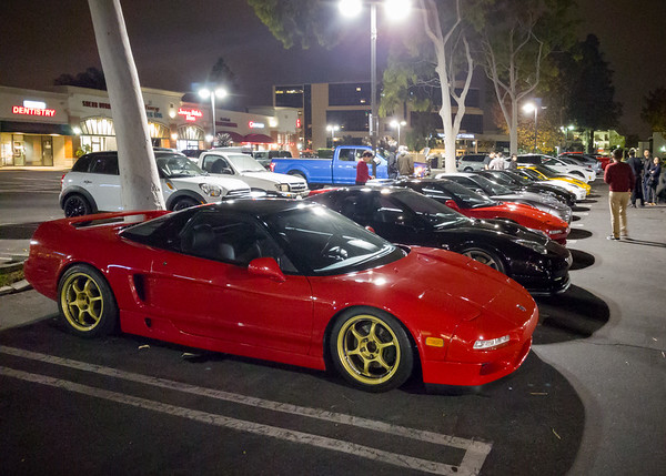 Since I don't have my NSX, I won't be going on the drive tonight...plus Valerie just got back from a trade show (we came straight from LAX)