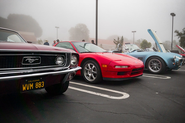 JUNE - Coffee and Cars and FOG in Palos Verdes...first time I've brought out my NSX to this event in 2017