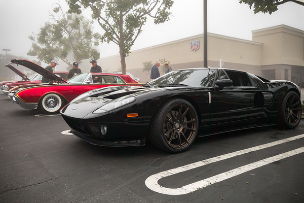 Not matte, but black Ford GT