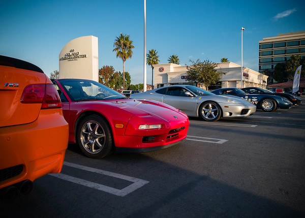 There's still a space open next to my NSX, Pete!