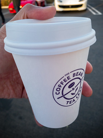 I don't normally drink Coffee Bean coffee...but this is FREE!