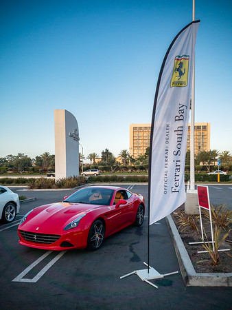 Yes, this event is put on by our local purveyor of shiny red exotic sports cars