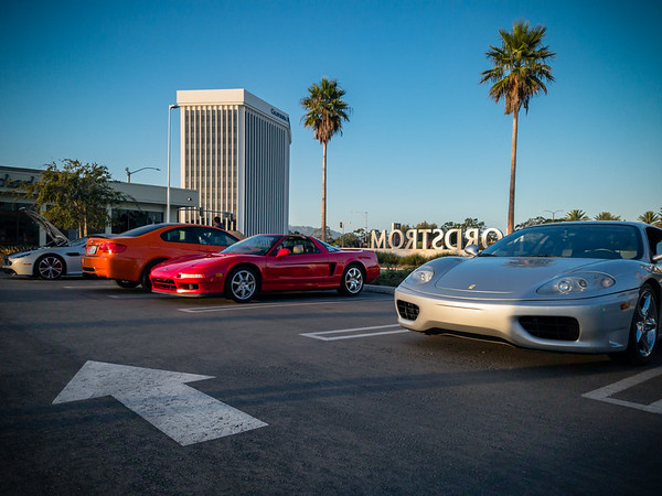 OCTOBER - Checking out a new C&C event near Del Amo Mall in Torrance
