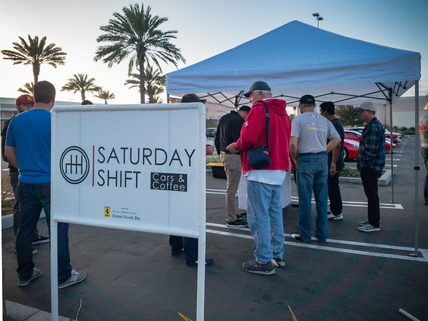 Ferrari South Bay's Saturday Shift is a Cars & Coffee that actually provides coffee