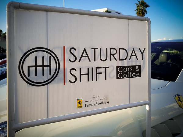It's time for the first Saturday Shift of 2018 (I missed our local Coffee & Cars event at the beginning of the month, so I did not want to miss this one)