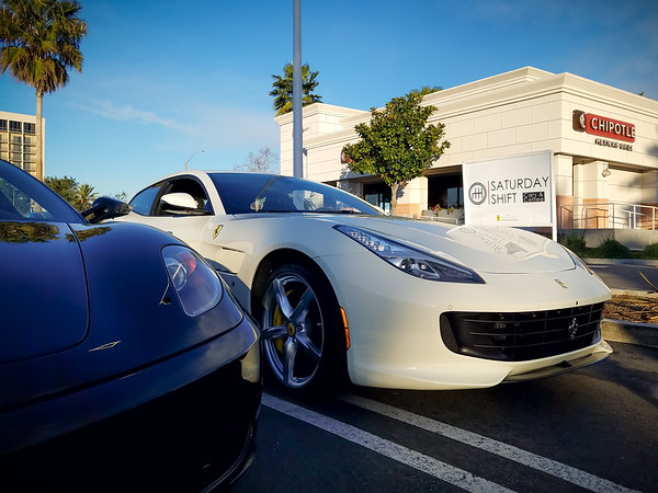 You're guaranteed to see Ferraris and drink coffee at this one