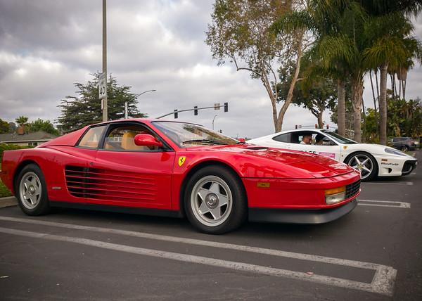 512TR Testarossa and 360 Modena