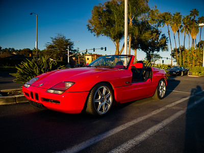 BMW Z1 roadster...I can't recall ever seeing one of these before
