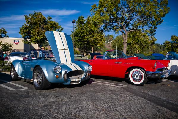 Shelby 427 Cobra and a Ford Thunderbird