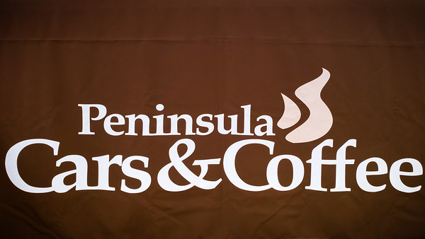 New logo sans-Senior...PV Concours d'Elegance's event puts cars before coffee, but there IS coffee being served thanks to the Promenade's Starbucks.