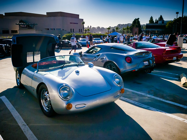 One of the first times I ever saw a Porsche 550 Spyder was at the Palos Verdes Concours d'Elegance at Ocean Trails in 2001 (the actual first time was only a couple months before that)