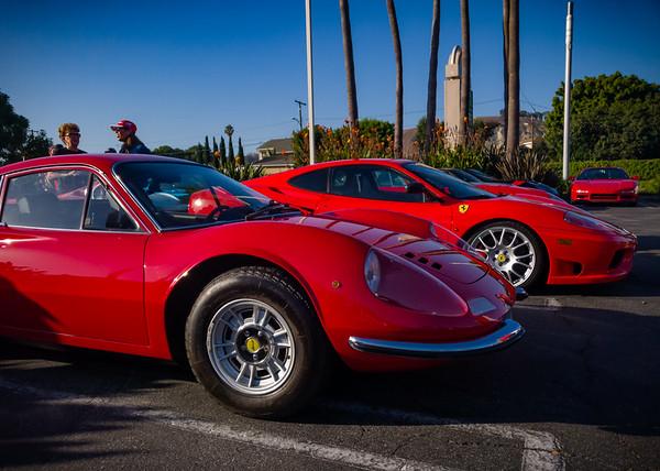 Dino 246 and Ferrari F430