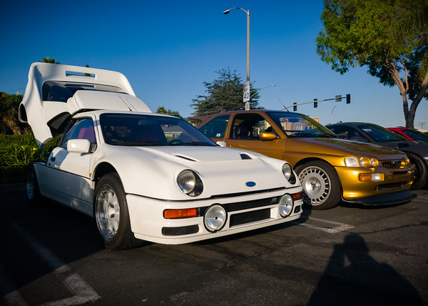 Ford RS200 and Ford Escort RS Cosworth