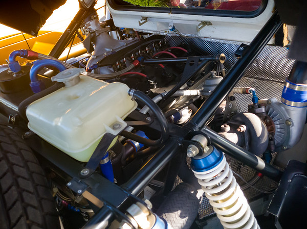 Under the hood of the Ford RS200