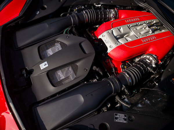 Modern Ferrari V12 (powering 812 Superfast)