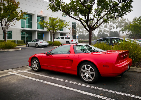 "I arrive at the ""secret"" location of the Honda Private Collection, the third time I have driven my NSX here..."