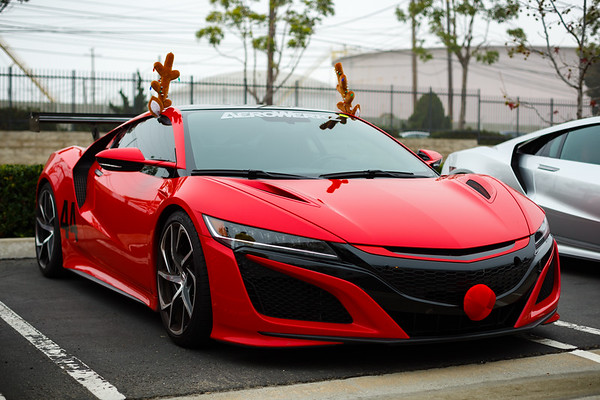 Mario is driving Rudolph the Red Nosed NC1