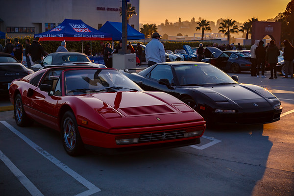 Ferrari 328 GTS and another NSX